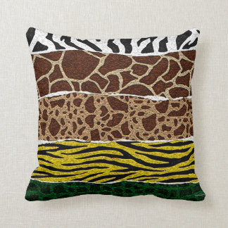 Modelo animal africano almohada
