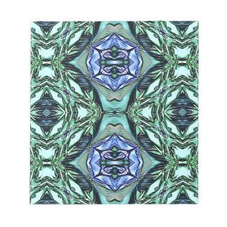 Modelo artístico de la lila enrrollada del trullo bloc de notas
