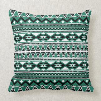 Modelo azteca BEmeraldW Cojín Decorativo