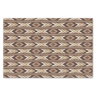 Modelo azteca precioso papel de seda