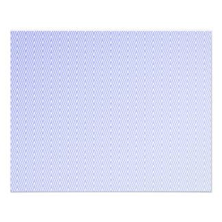 Modelo azul claro del galón folleto 11,4 x 14,2 cm