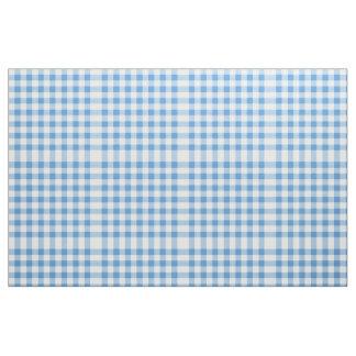 Modelo azul claro y blanco del bloque de la guinga tela