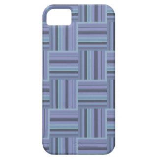 modelo Azul-gris de la armadura de las rayas Funda Para iPhone SE/5/5s
