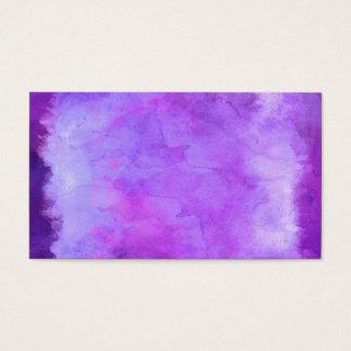 Modelo azul púrpura violeta de la textura de la tarjeta de negocios