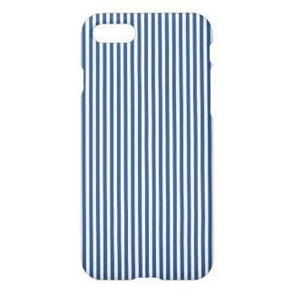 Modelo azul y blanco del iris suave de la cabaña funda para iPhone 8/7