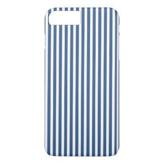 Modelo azul y blanco del iris suave de la cabaña funda para iPhone 8 plus/7 plus