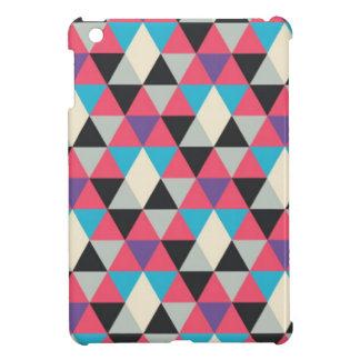 Modelo azul y blanco rosado del triángulo