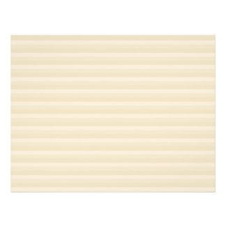 Modelo beige de la raya del color del moreno folleto 21,6 x 28 cm