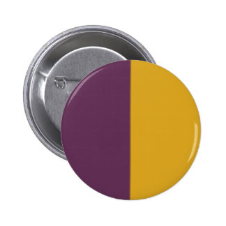 Modelo bicolor anaranjado violeta retro pin