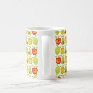 Modelo blanco de la fruta de la taza