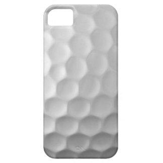 Modelo blanco de la pelota de golf del caso del iPhone 5 cárcasa