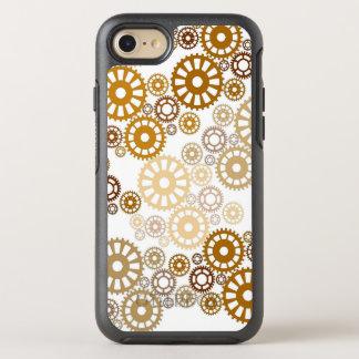 Modelo blanco fresco de Steampunk Funda OtterBox Symmetry Para iPhone 8/7