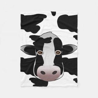 Modelo blanco y negro de la impresión de la vaca manta polar