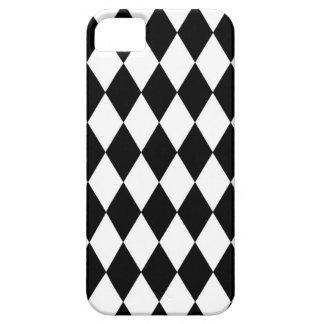 Modelo blanco y negro del Harlequin Funda Para iPhone SE/5/5s