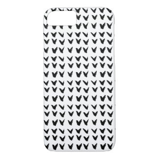 Modelo blanco y negro funda iPhone 7