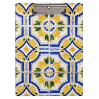 Modelo brillante de la teja, Portugal Carpeta De Pinza