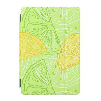 Modelo brillante de los limones de la fruta cubierta de iPad mini