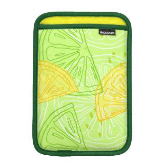 Modelo brillante de los limones de la fruta funda para iPad mini