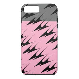 Modelo bronce de cañón gris rosado complejo funda iPhone 7 plus