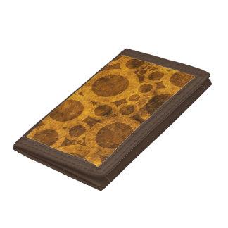 Modelo Brown de Steampunk y cartera del oro