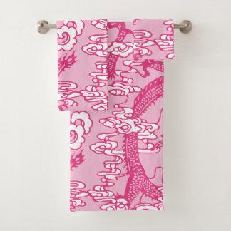 Modelo chino rosado del dragón