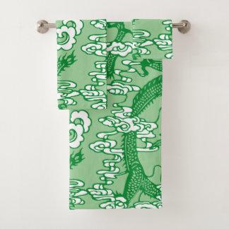Modelo chino verde del dragón