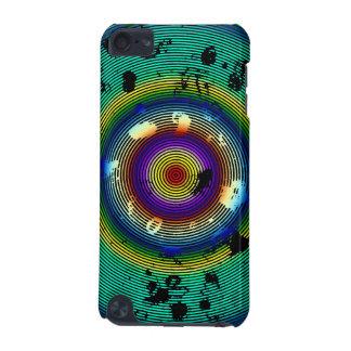 Modelo circundado multicolor funda para iPod touch 5