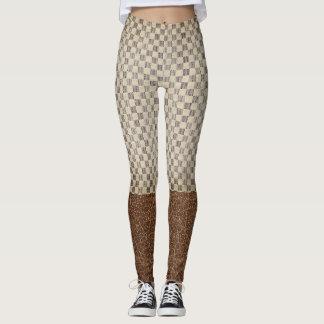 Modelo clásico del cuadro del estilo legging