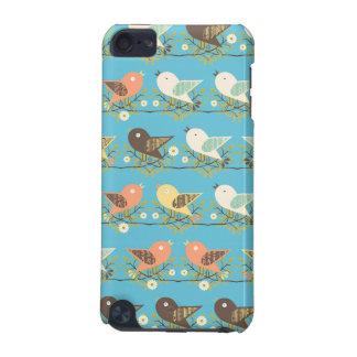 Modelo clasificado de los pájaros carcasa para iPod touch 5