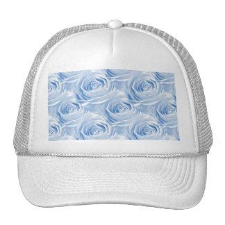 Modelo color de rosa azul del papel pintado gorras de camionero