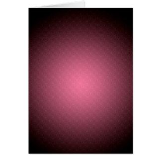 Modelo color de rosa (retrato) tarjeta de felicitación