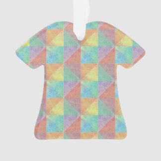 Modelo colorido de los triángulos de la acuarela