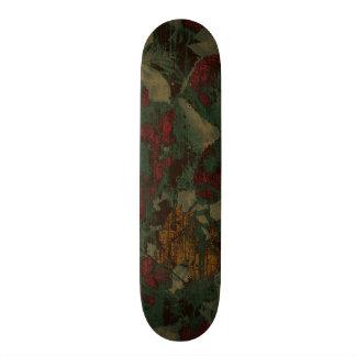 Modelo colorido del camuflaje de la flor patineta personalizada