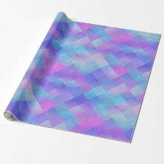 Modelo colorido papel de regalo