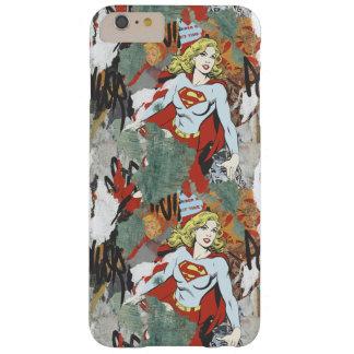 Modelo cómico 8 de las alcaparras de Supergirl Funda Para iPhone 6 Plus Barely There