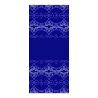 Modelo complejo del azul real tarjetas publicitarias personalizadas