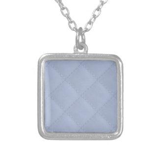 Modelo cosido acolchado cuadrado azul de Alicia Colgante Cuadrado