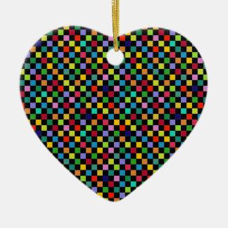 modelo cuadrado colorido ornamentos de reyes