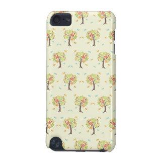 Modelo de árboles y de pájaros carcasa para iPod touch 5G