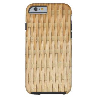 Modelo de bambú elegante y fresco de la rota funda para iPhone 6 tough