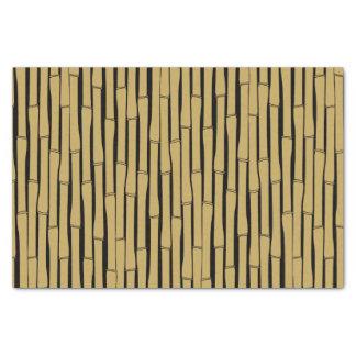 Modelo de bambú papel de seda
