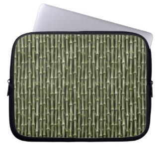 Modelo de bambú verde de la naturaleza manga computadora