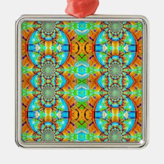Modelo de cadena abstracto coloreado multi adorno