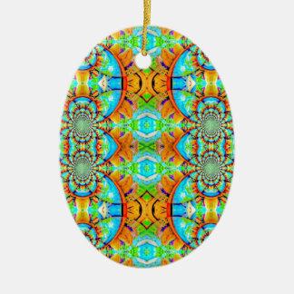 Modelo de cadena abstracto coloreado multi ornamento de reyes magos