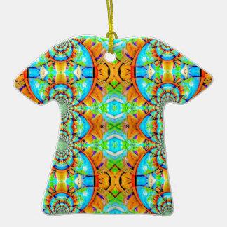 Modelo de cadena abstracto coloreado multi ornamente de reyes