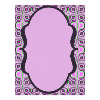 Modelo de color de malva rosado de la MOD Folleto 21,6 X 28 Cm