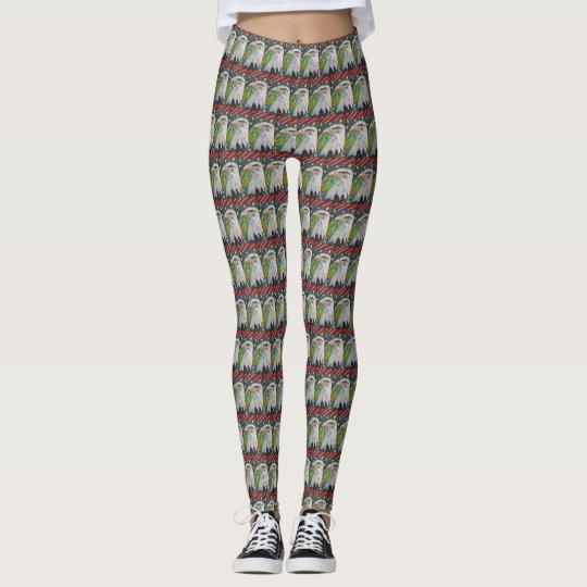 Modelo de Eagle de la paz Leggings