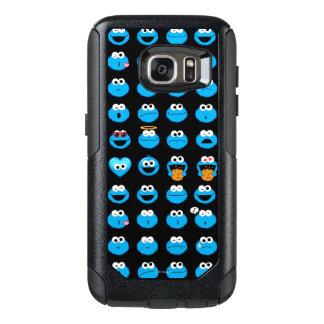 Modelo de Emoji del monstruo de la galleta Funda Otterbox Para Samsung Galaxy S7