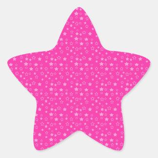 Modelo de estrella en pink png oscuro calcomanía forma de estrella personalizadas