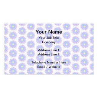 Modelo de flor en colores pastel plantilla de tarjeta de negocio